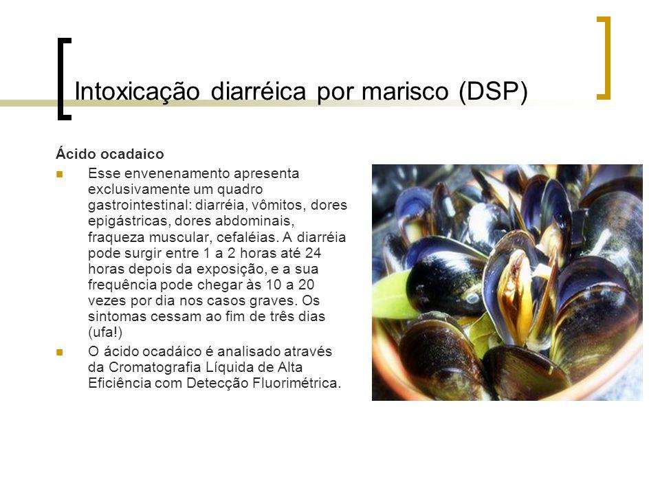 Intoxicação diarréica por marisco (DSP)