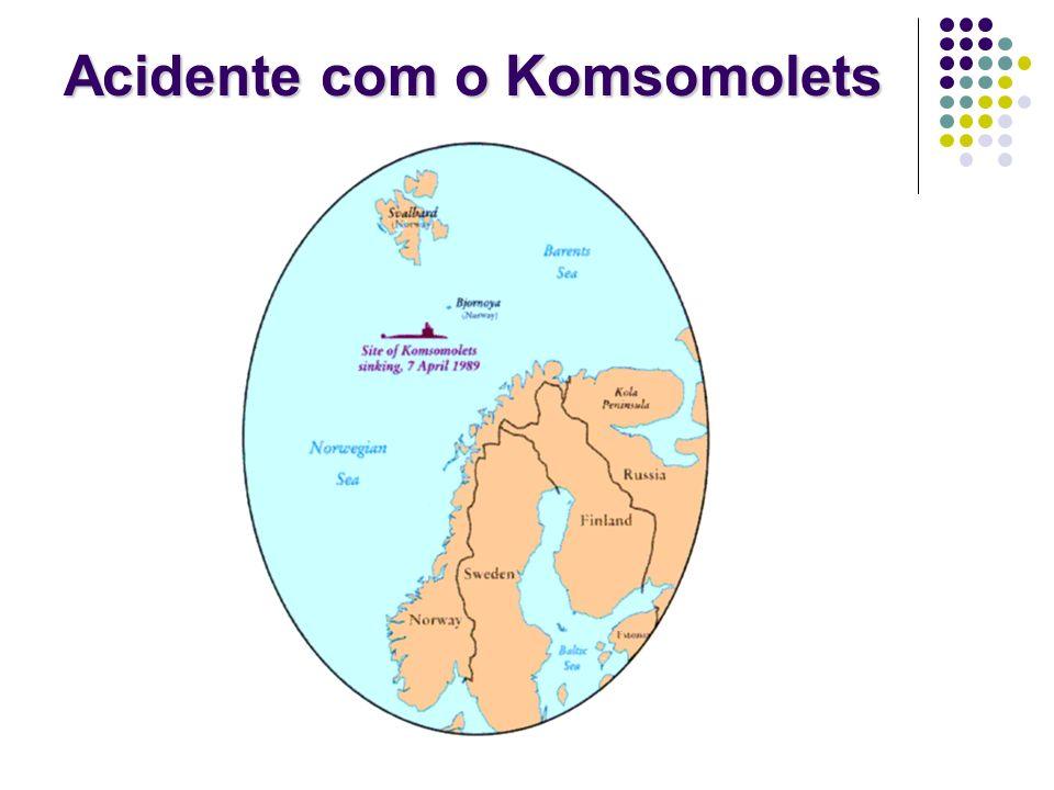 Acidente com o Komsomolets