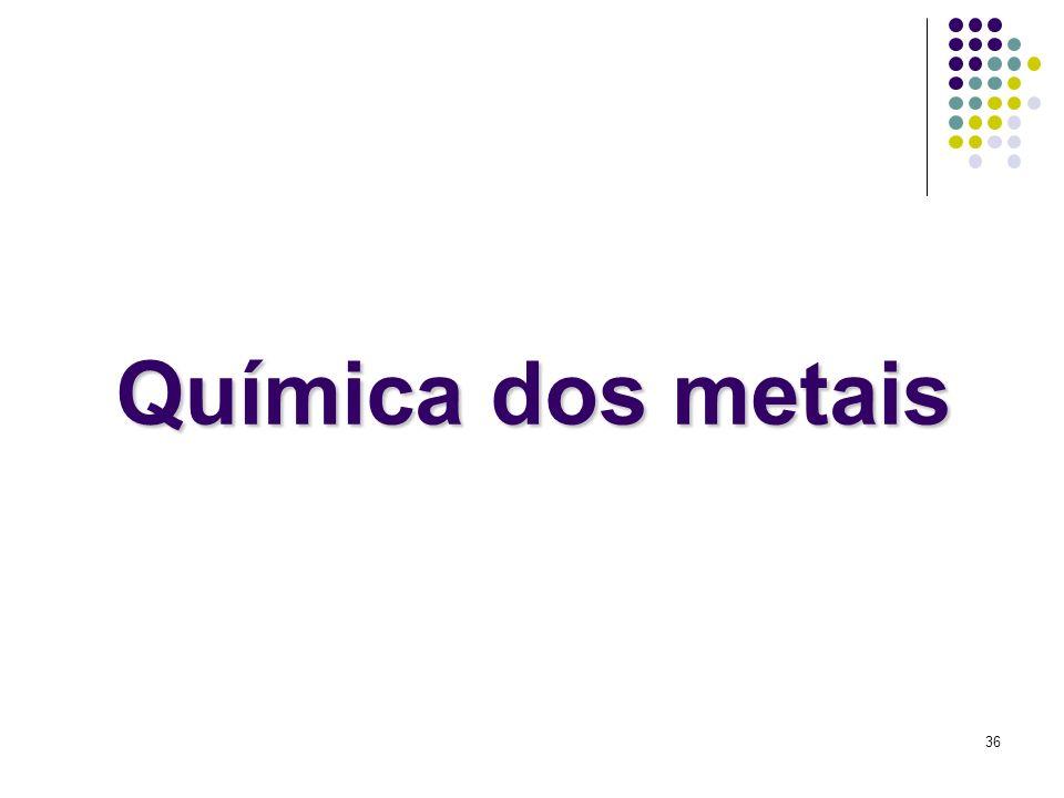 Química dos metais