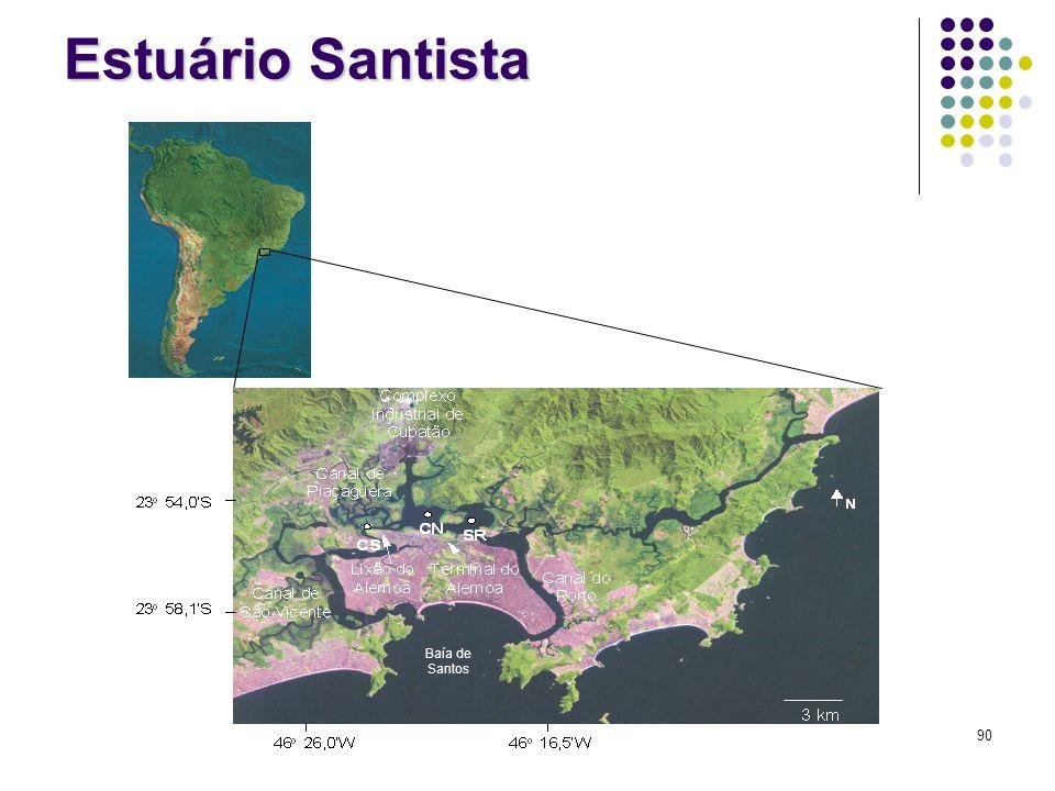 Estuário Santista Baía de Santos