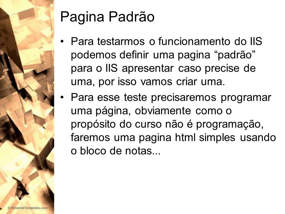 Pagina Padrão