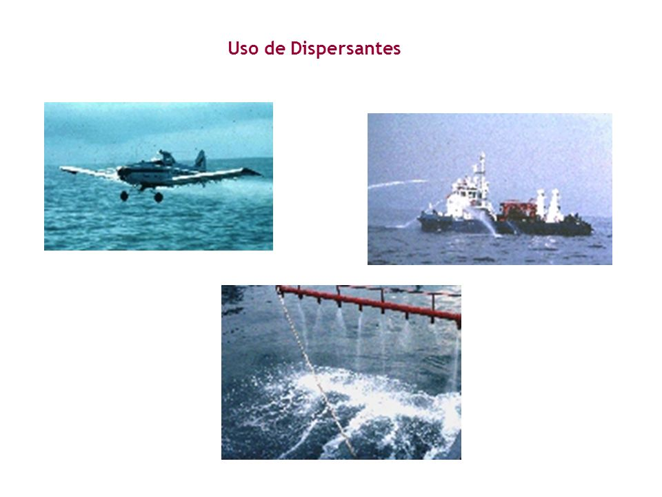 Uso de Dispersantes
