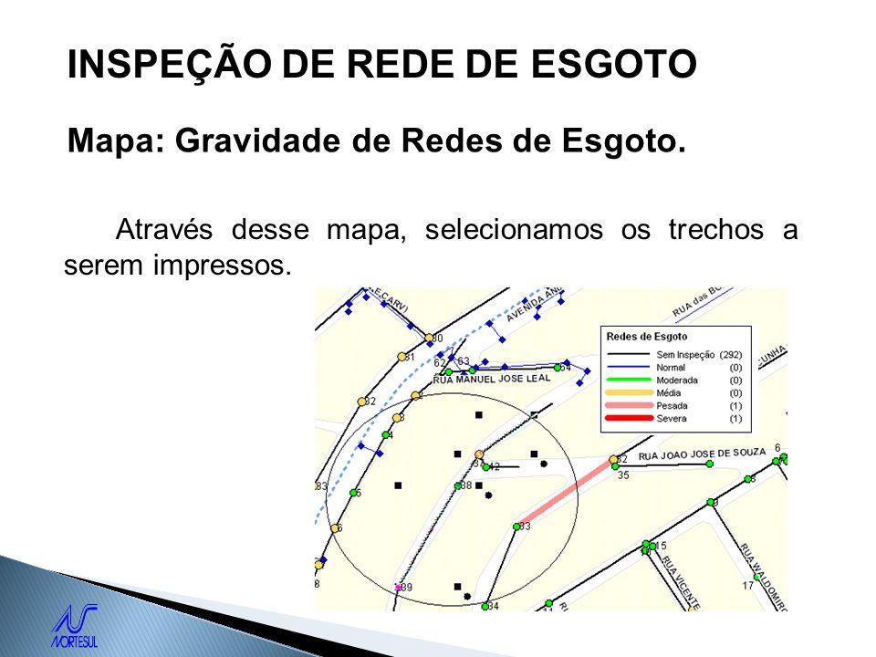 INSPEÇÃO DE REDE DE ESGOTO