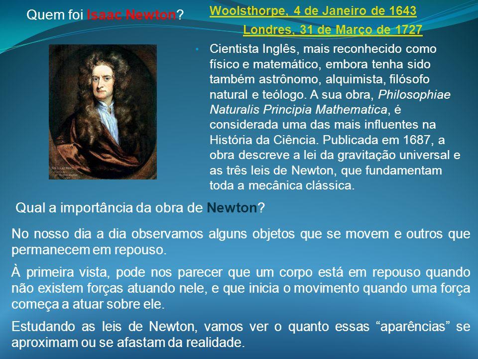 Qual a importância da obra de Newton
