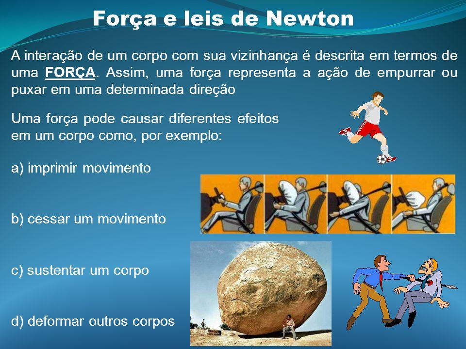 Força e leis de Newton