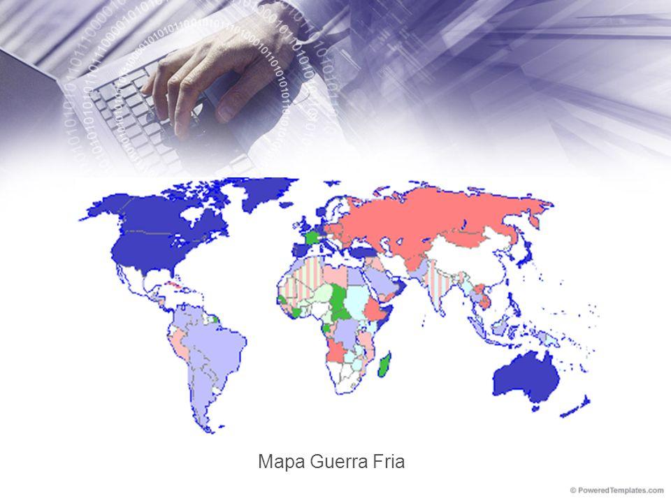 Mapa Guerra Fria