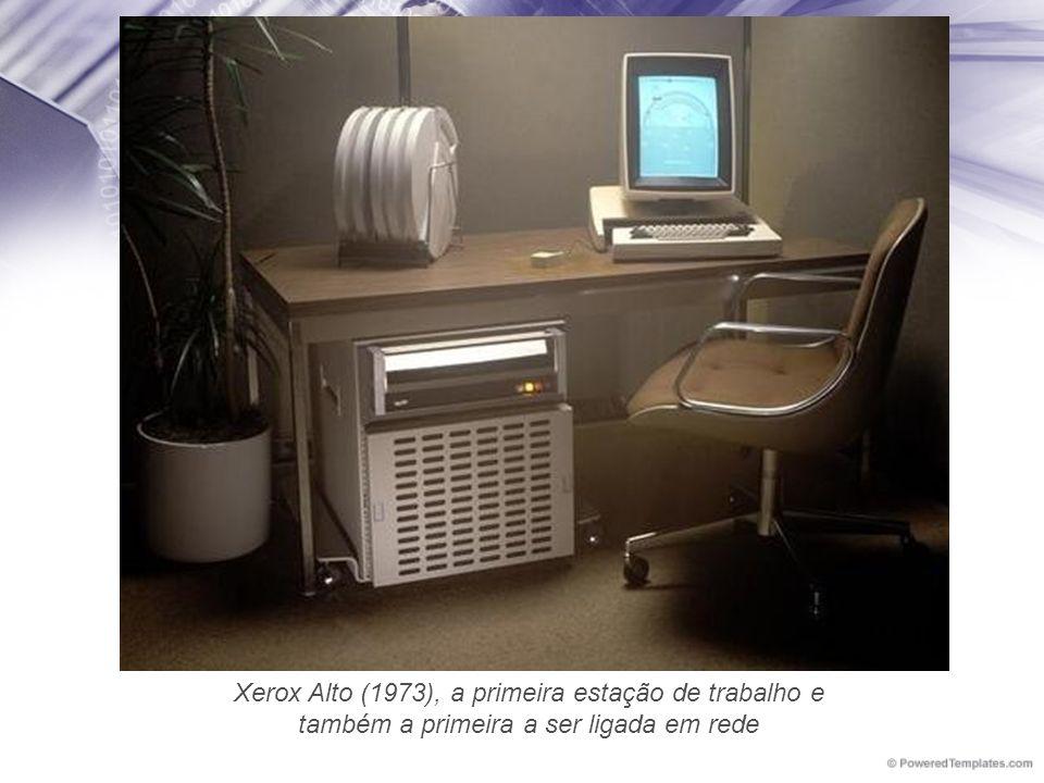 Xerox Alto (1973), a primeira estação de trabalho e