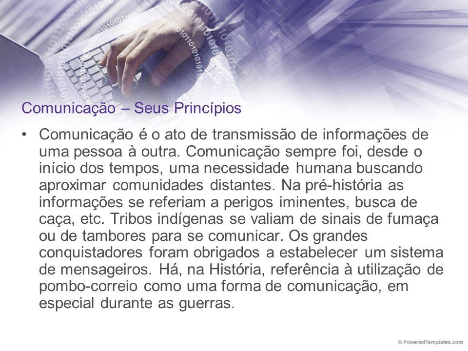 Comunicação – Seus Princípios