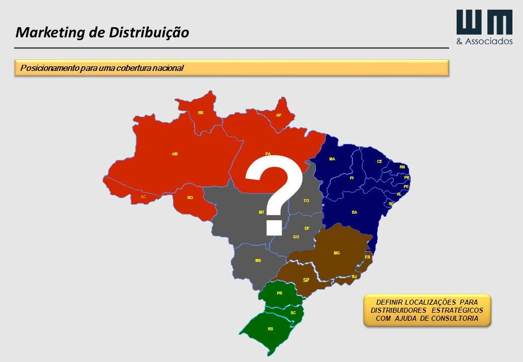Marketing de Distribuição Posicionamento para uma cobertura nacional