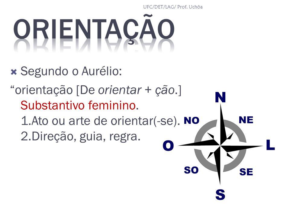 Orientação Segundo o Aurélio: