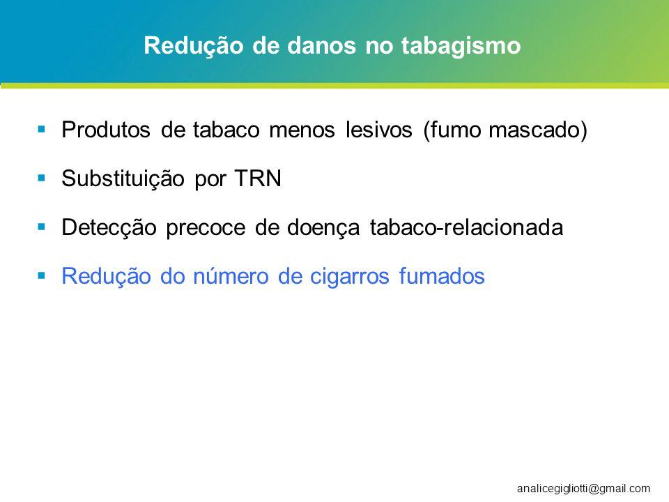 Redução de danos no tabagismo