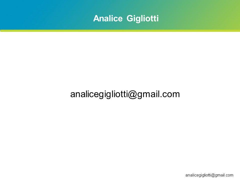 analicegigliotti@gmail.com Analice Gigliotti 3/24/2017 6:58 AM LMF