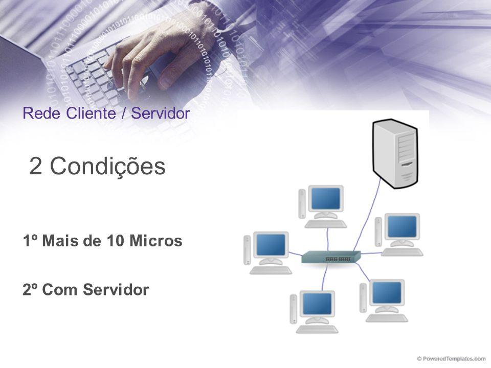 Rede Cliente / Servidor