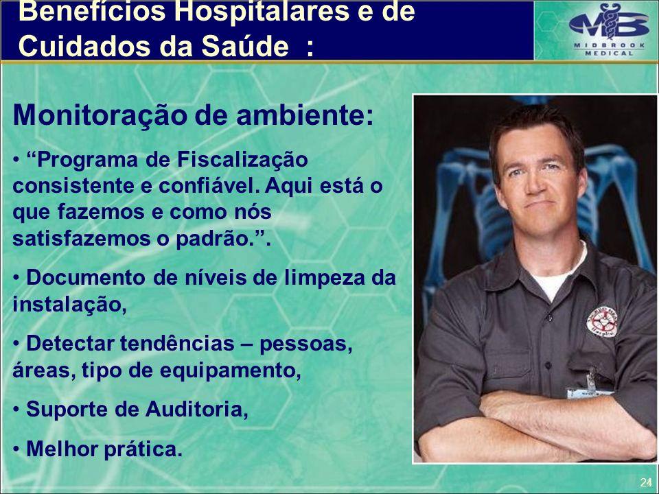 Benefícios Hospitalares e de Cuidados da Saúde :