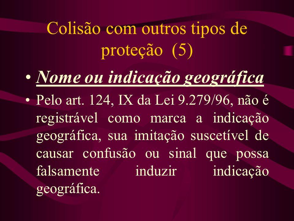 Colisão com outros tipos de proteção (5)