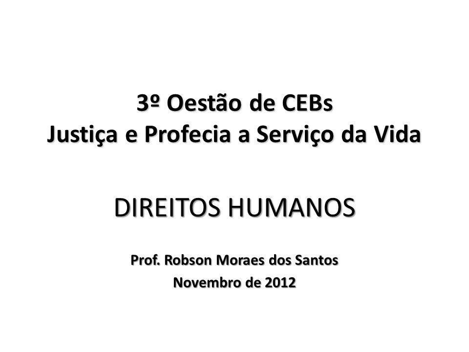 3º Oestão de CEBs Justiça e Profecia a Serviço da Vida