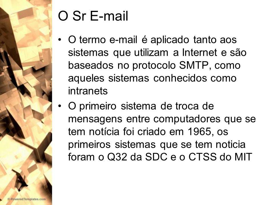 O Sr E-mail
