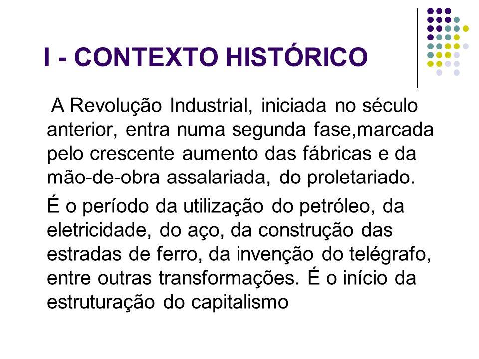 I - CONTEXTO HISTÓRICO