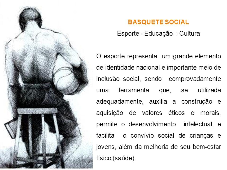 Esporte - Educação – Cultura