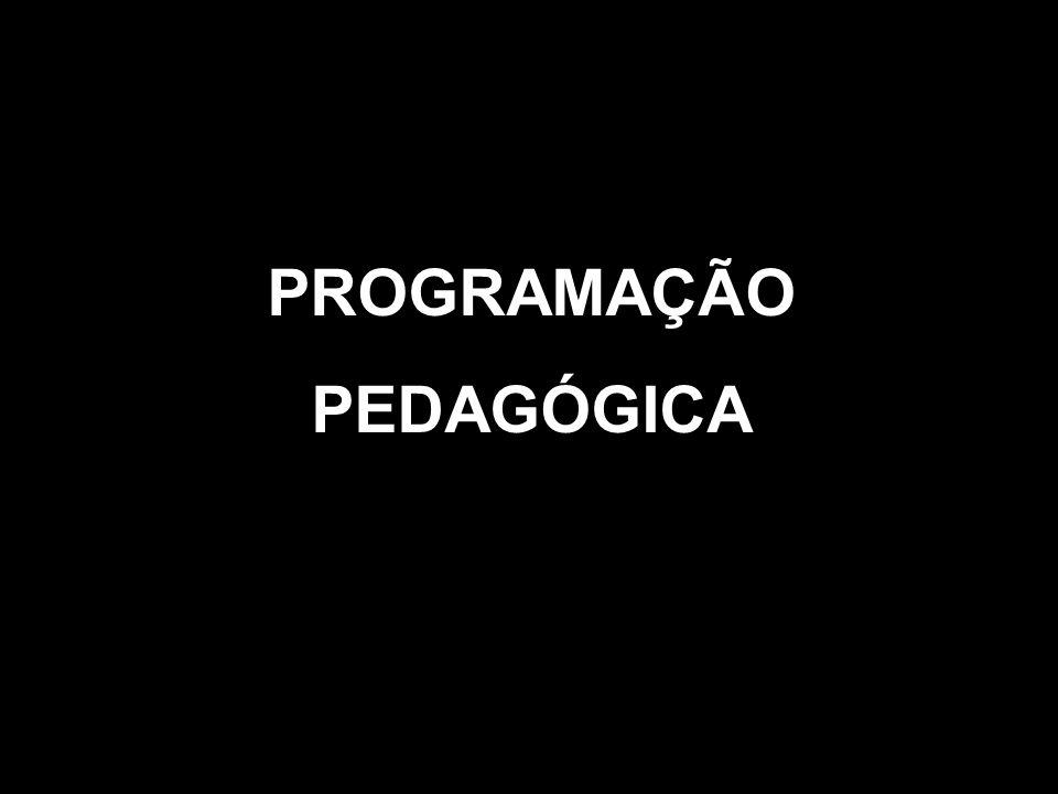 PROGRAMAÇÃO PEDAGÓGICA
