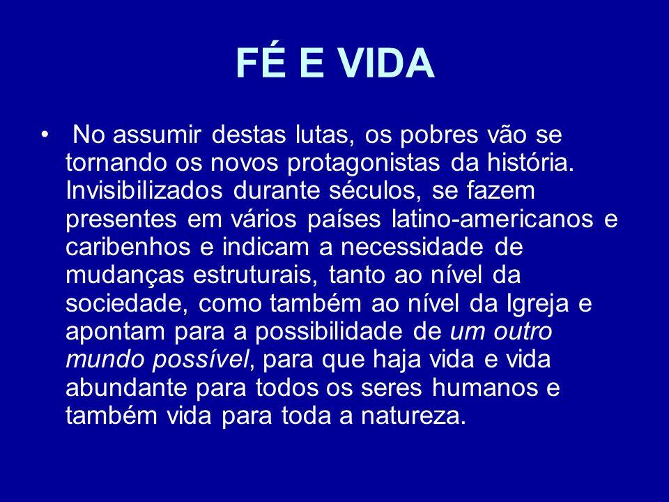FÉ E VIDA