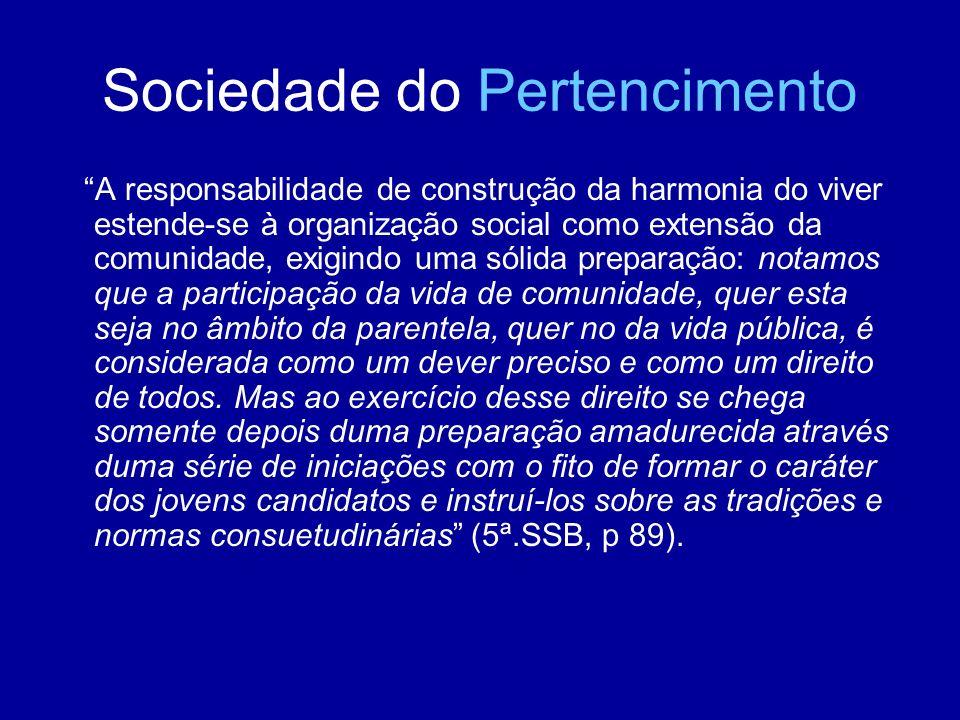 Sociedade do Pertencimento