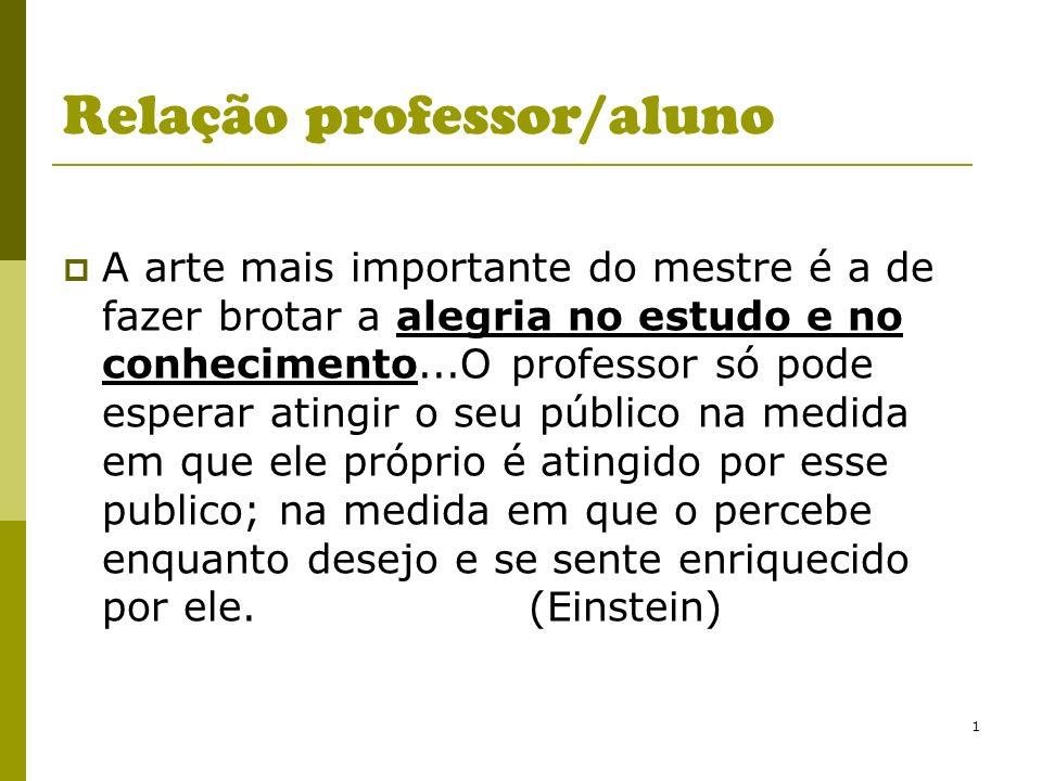Relação professor/aluno