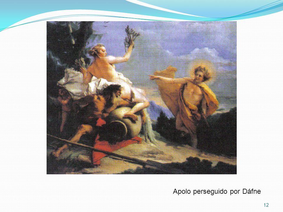 Apolo perseguido por Dáfne