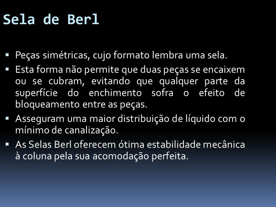 Sela de Berl Peças simétricas, cujo formato lembra uma sela.