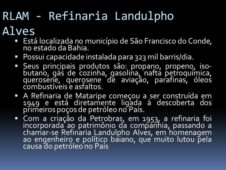 RLAM - Refinaria Landulpho Alves