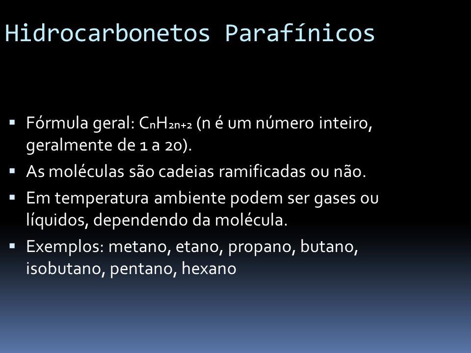 Hidrocarbonetos Parafínicos