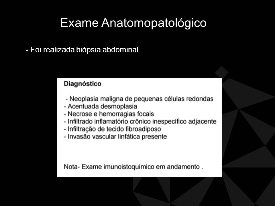 Exame imuno histoquimico