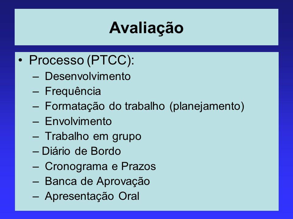 Avaliação Processo (PTCC): Desenvolvimento Frequência