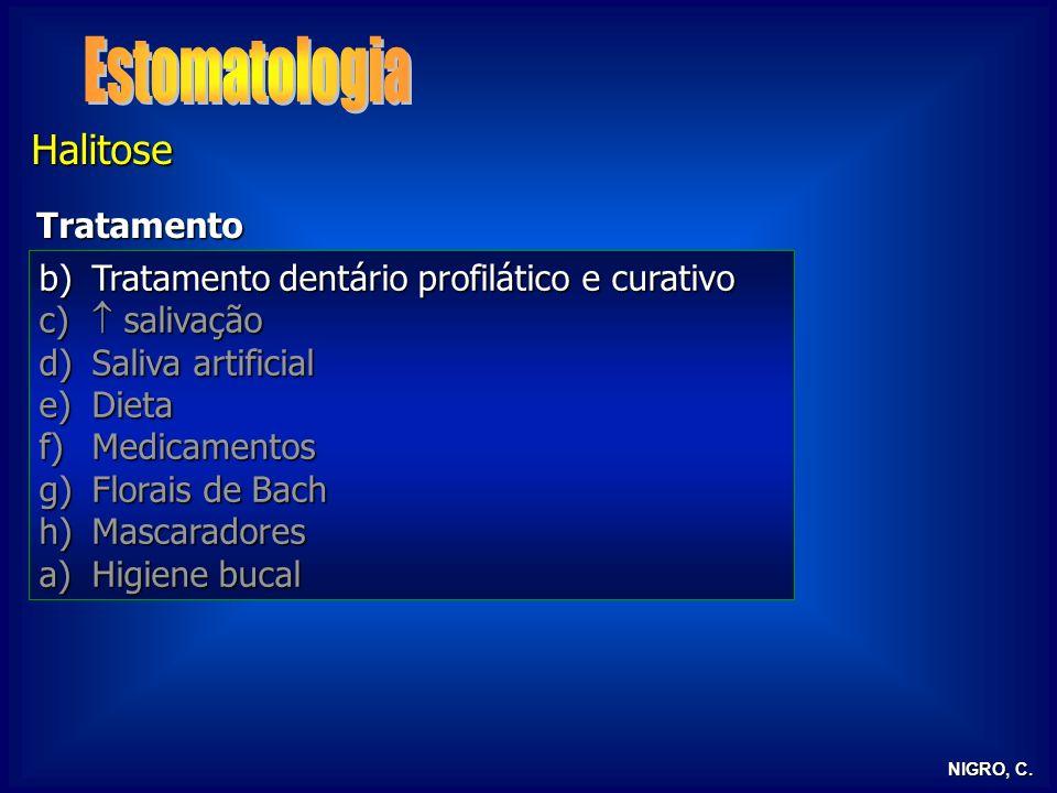 Estomatologia Halitose Tratamento