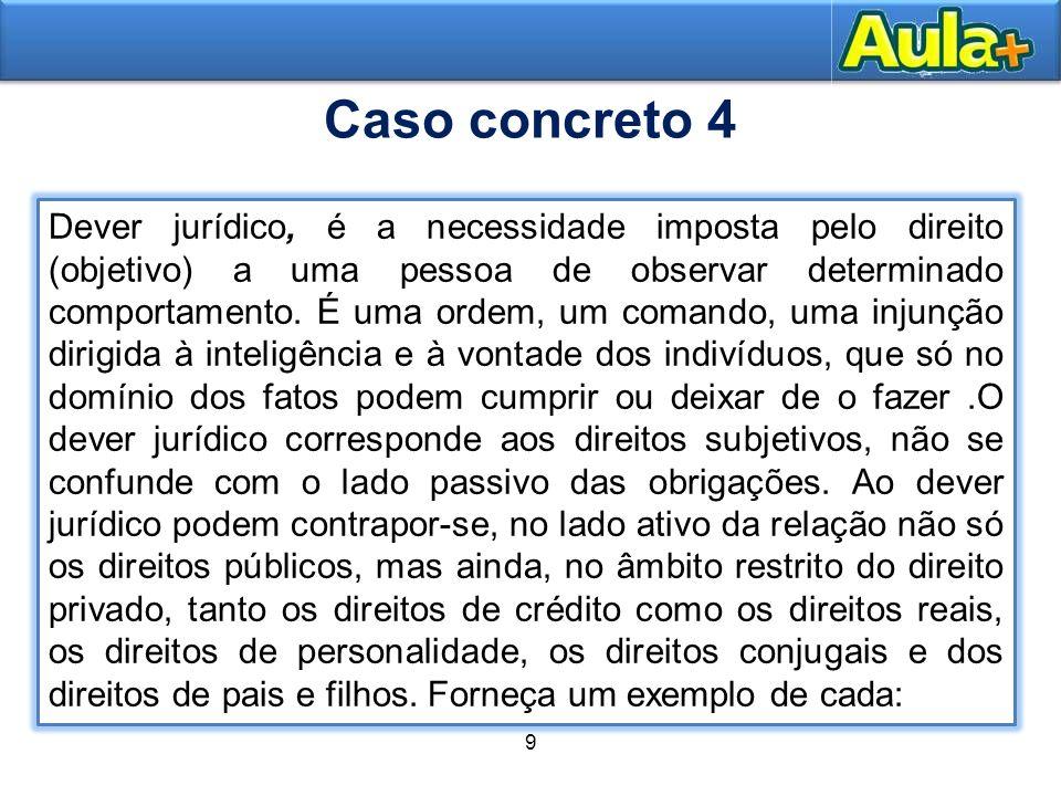 Caso concreto 4