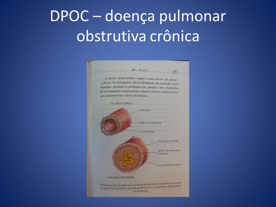 DPOC – doença pulmonar obstrutiva crônica