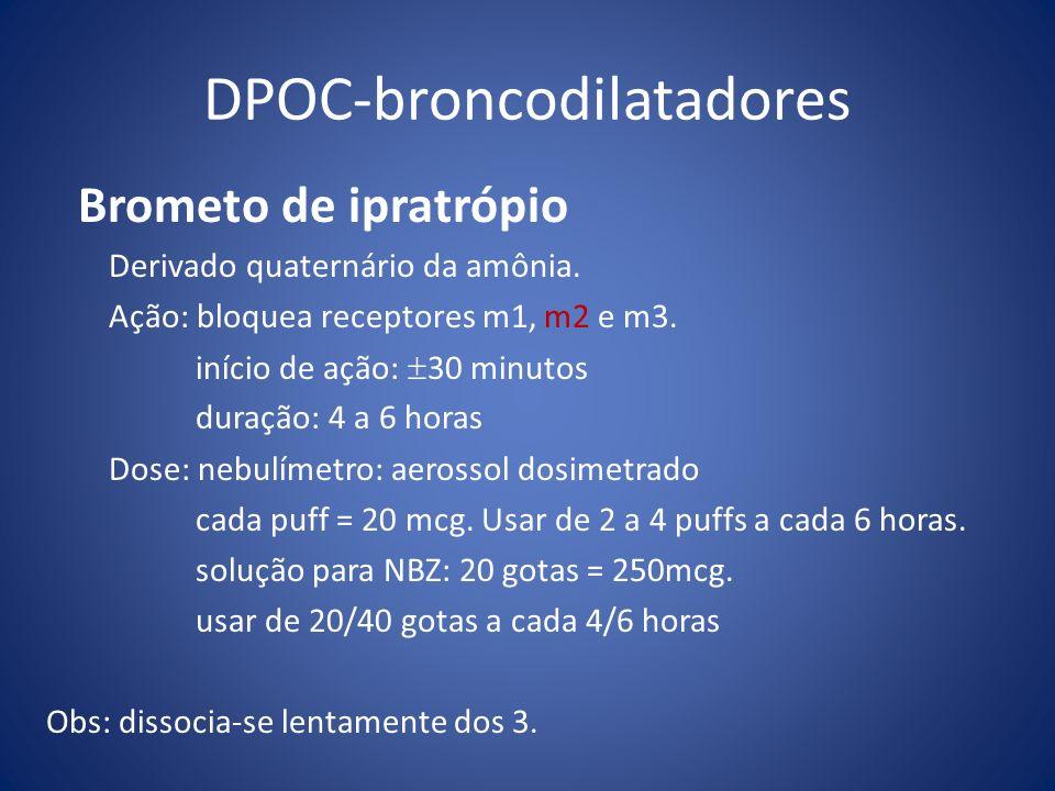 DPOC-broncodilatadores