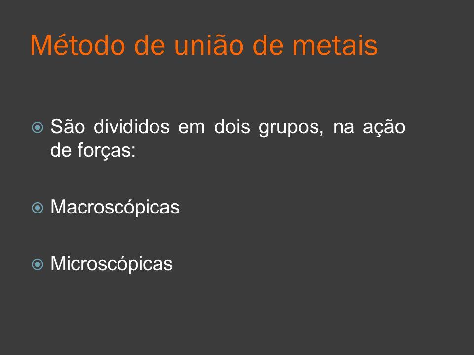 Método de união de metais
