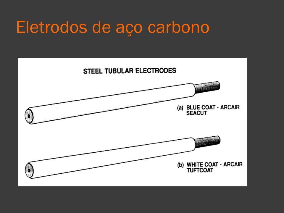 Eletrodos de aço carbono