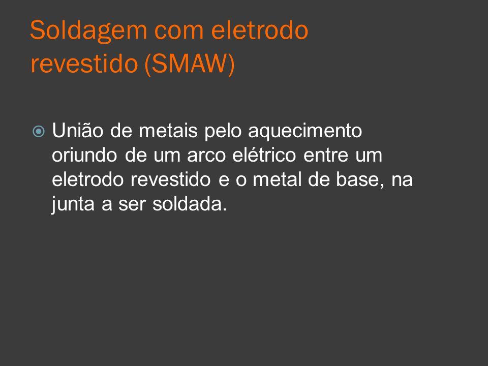 Soldagem com eletrodo revestido (SMAW)