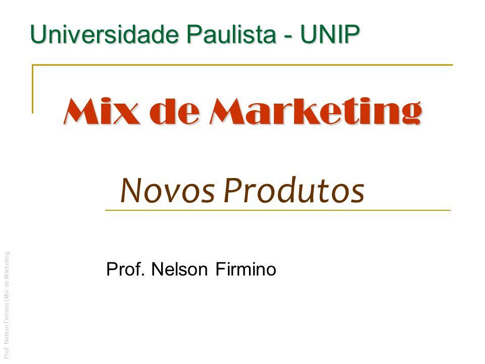 Mix de Marketing Novos Produtos