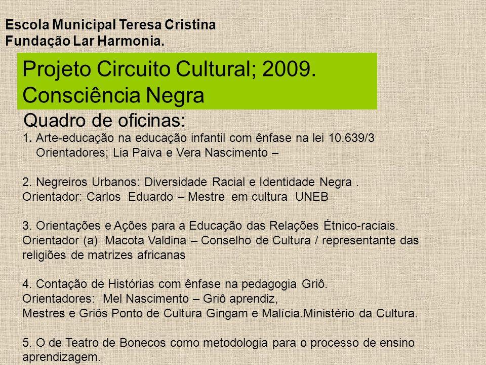 Famosos Projeto Circuito Cultural Consciência Negra - ppt carregar JK32