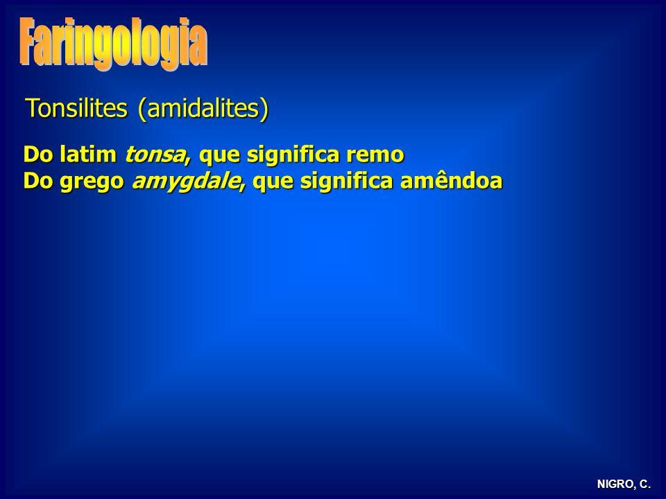 Faringologia Tonsilites (amidalites)