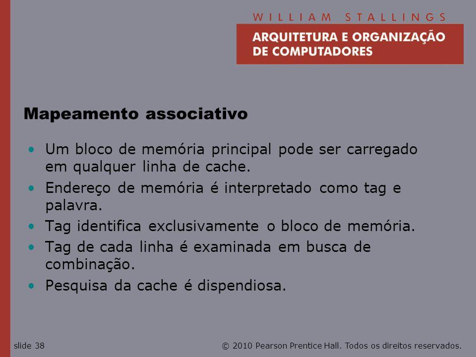 Mapeamento associativo