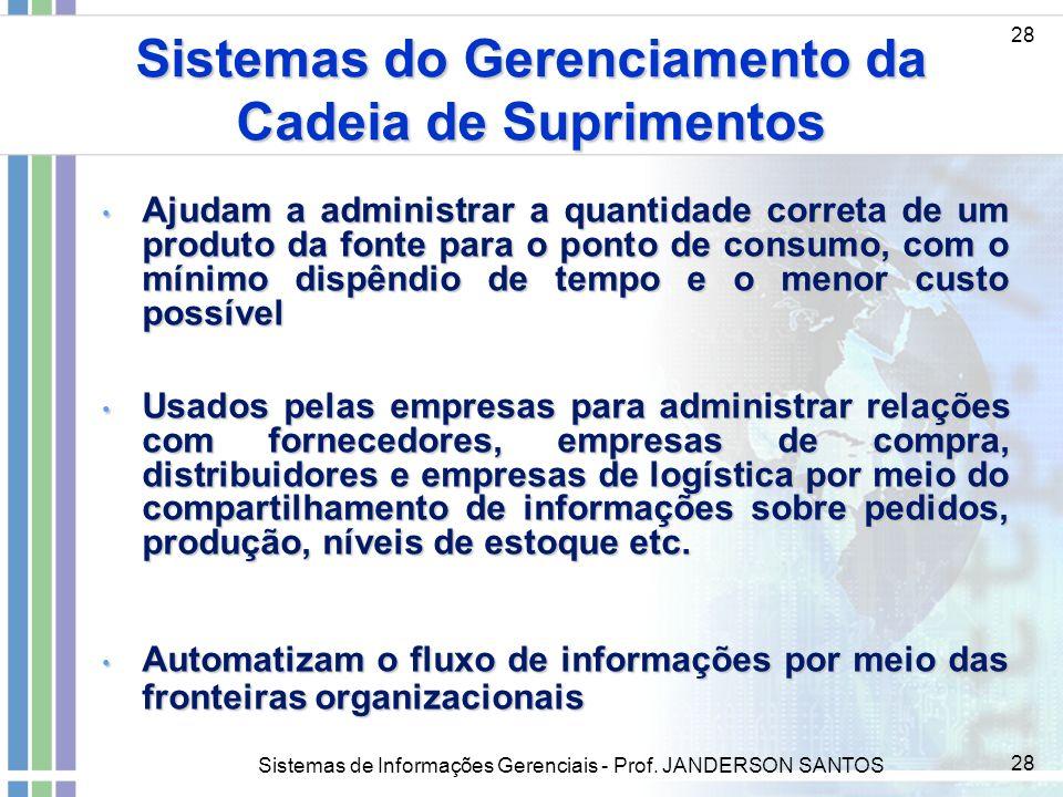 Sistemas do Gerenciamento da Cadeia de Suprimentos