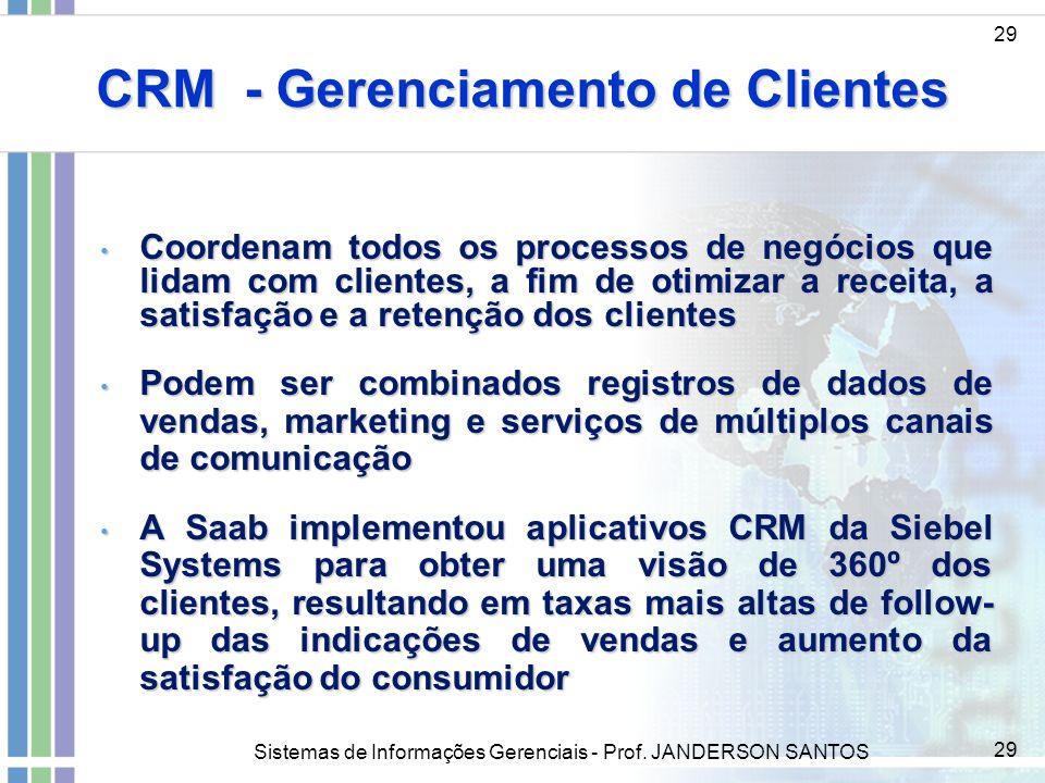 CRM - Gerenciamento de Clientes