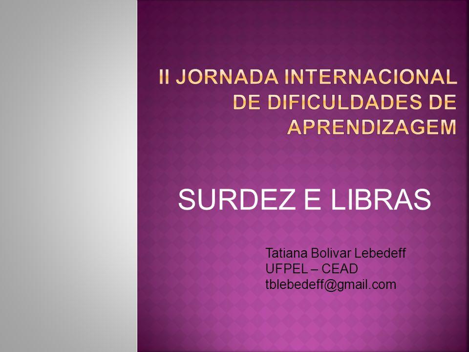 II Jornada Internacional de Dificuldades de Aprendizagem