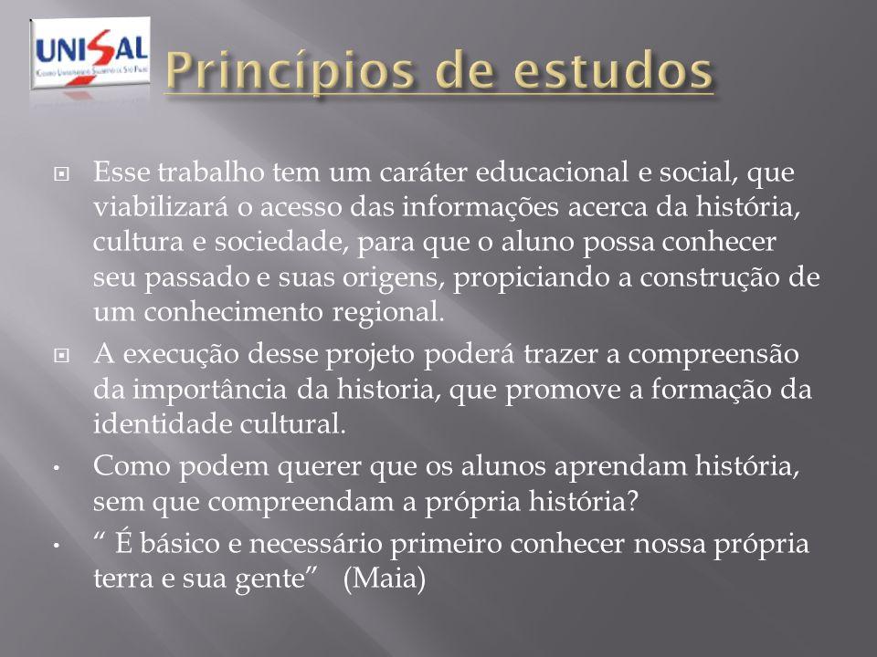 Princípios de estudos