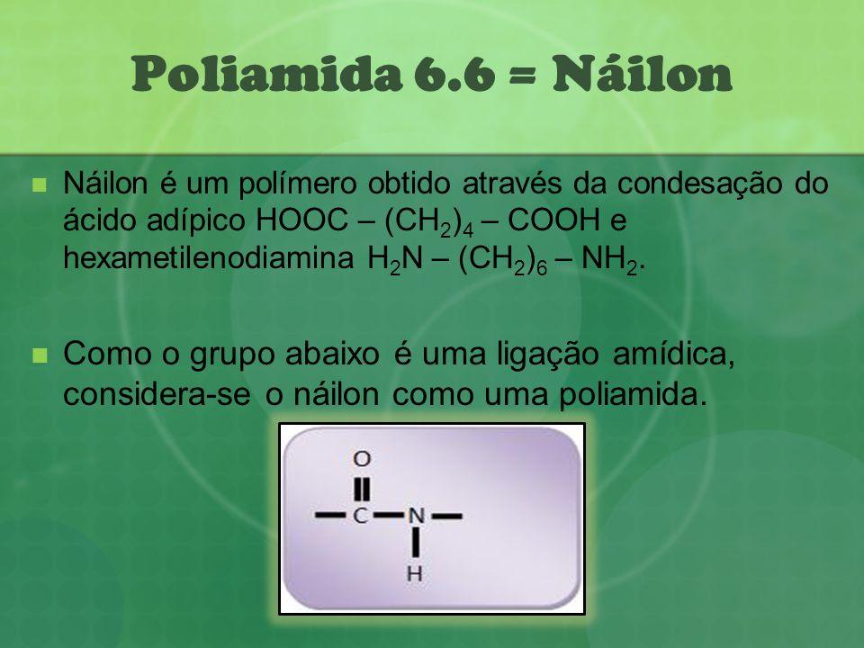 Poliamida 6.6 = Náilon