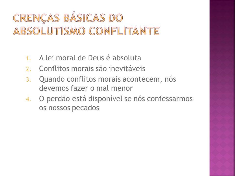 Crenças Básicas do Absolutismo Conflitante